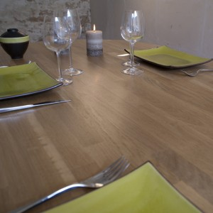 Table 2 pieds finition PATCHWOOD MAT